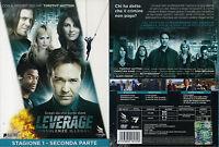 LEVERAGE - STAGIONE 1 SECONDA PARTE -  DVD (NUOVO SIGILLATO)
