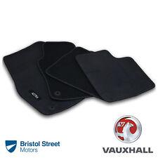 Genuine Vauxhall Astra H/MK5 Velour Black Tailored Front/Rear Carpet Floor Mats