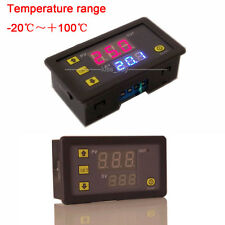 12V Digital display Thermostat Controller Switch led Temperature Sensor control
