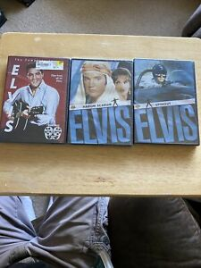 Elvis DVD Lot Harum Scarum, Spinout, Clips ALL SEALED D4