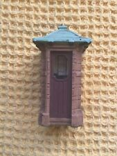 More details for vintage resin sir gilbert scott miniature brick telephone kiosk for railways