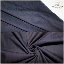 "Soft 2 Way Stretch Denim,7oz 240GSM Dark Blue,High Quality,Crafts, Chambray, 58"""