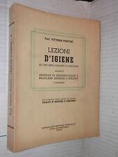 LEZIONI D IGIENE epidemiologia profilassi Puntoni Universita Roma 1967 Vol 2 di