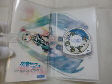 7-14 Days to USA Airmail. USED PSP Hatsune Miku Project Diva 1 Japanese Version