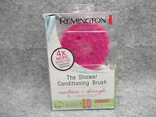 Remington Shower Conditioning Conditioner Detangle Brush Magenta New In Package