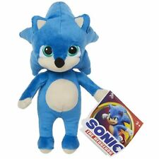 Sonic The Hedgehog Movie (2020) BABY SONIC 8.5 Inch Extra Soft Plush Toy