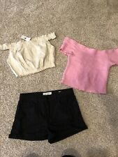 Pac Sun Lot Tops And Short Size M And 27