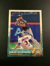 2015 Topps # 656 ADEINY HECHAVARRIA ROOKIE RC Florida Marlins
