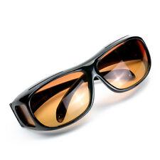 1X Night Vision Night Optic HD Wrap Around Driving Anti Glare Glasses Sun Optics