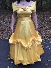 Beauty and the Beast Belle Wedding Dress Costume Ball Gown Size 8 Disney Cosplay