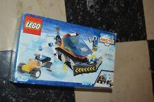 BOITE DE JEU LEGO ARTIC BOITE 6573 VINTAGE 2000 COMPLET CHASSE NEIGE VOITURE