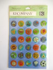K&CO CLEARLY YOURS - ROUGH AND TUMBLE ICONS boy sport bugs plane boat