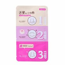 Pig Nose Mask Remove Blackhead Acne Remover Clear Black Head 3 Step Face Care