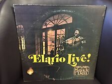 Elario Live! At the Mystic Den of the Royal Sonesta Hotel Singed Copy VG+ LP