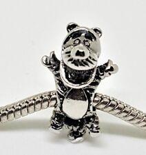 Silver Tigger Disney Big Hole Charm for European Bracelets