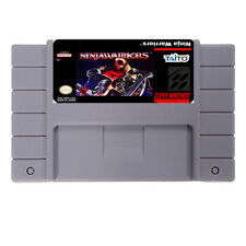 Ninja Warriors ( SNES , 1994) USA NTSC FREE SHIPPING WORLDWIDE !!!