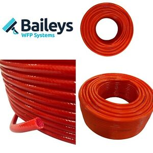 Window Cleaning Hose 6mm Red Reinforced hose