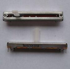 NOBLE VJ4513 10 KOHMS SLIDE POTENTIOMETERES (2 PCS)