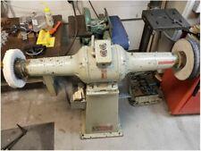 Pedestal Buffer 5hp 220v 3ph 6.6amp Standard Electric Tool Co
