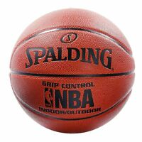 Spalding NBA Grip Control Official Composite Leather Indoor/Outdoor Basketball