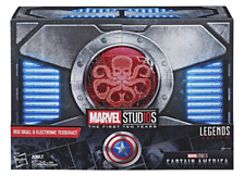 SDCC 2018 Hasbro Marvel Legends Red Skull Figure & Electronic Tesseract In Hand