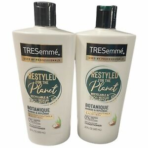 2 Pack TreSemme Conditioner. Restyled for the planet. 22 Fl oz each.