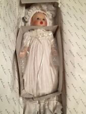 """Gerber Baby Christening Day Baby Doll 8"""" by Danbury Mint New in Box No Coa"""