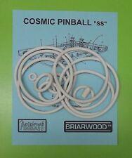 "Briarwood Cosmic Pinball ""SS"" pinball rubber ring kit"