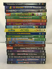 Family Animated DVDs Charlotte's Web Legend of Korra Monster High Elmo Lot of 20