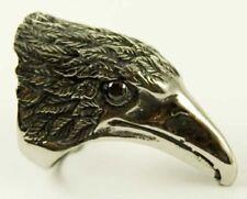 Anillos de bisutería anillo con piedra de acero inoxidable