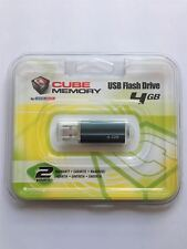 DANE-Elec 4 GB Cubo USB Flash Pen Drive Tarjeta de memoria