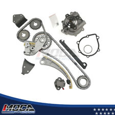 Timing Chain Kit Water Pump Fit 96-03 Chevy Suzuki 1.8L / 2.0L DOHC J20A J18A