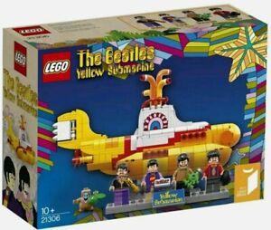 LEGO IDEAS 21306 BEATLES YELLOW SUBMARINE NEW SEALED