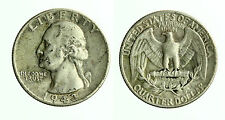 pcc1786_12) USA Argento Washington QUARTER DOLLAR 1943