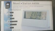 Réveil ,Station météo ,calendrier ,thermomètre ,alarme, Hygromètre ,météo