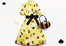 Kate Spade Sunny Daisy Silk Organza Shirtdress  Size:0  $598  NWT