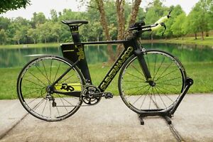 54 cm - 2015 Quintana Roo - PR Six Ultegra - Carbon Tri/TT - $5,000 Retail