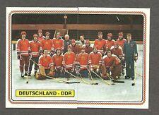 1979 Panini World Hockey 79, Team East Germany, Set of 10