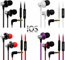 High Quality Earphones w/ mic In Ear Headphones Earbuds for Apple iPhone, iPod