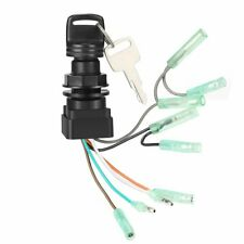 Boat Outboard Motor Ignition Key Switch for Suzuki Control Box 2 and 4-Stroke