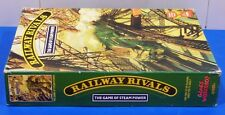 GAMES WORKSHOP'S RAILWAY RIVALS USED GAME BOX!