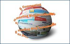 95,000+++blog comment backlinks * Best SEO Provider on eBay* Improve Google Rank