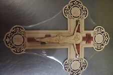 Wooden orthodox wall cross. Made in Europe. New. Large SDT/546