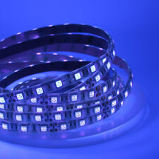 5m UV 395-405NM 5050 SMD 300 LED Strip Light Waterproof Blacklight tape lamp 12V