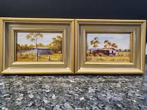 Original Oil Paintings (set of 2) from Australian artist T. Trengove