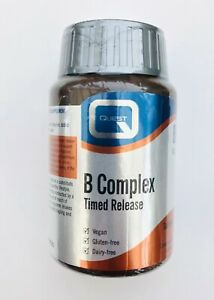 Quest B Complex Timed Release 60 Tablets - Formerly called Mega B100