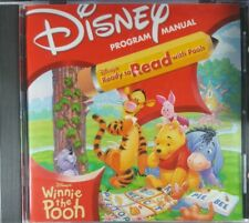Disney's Ready To Read With Pooh Pc Mac Cd learn spelling alphabet reading game