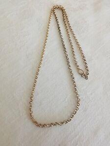 9ct Gold Belcher Chain Necklace