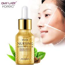 Snail Serum Moisturiser Nursing Essence Whitening Replenish Nutrition Anti Aging