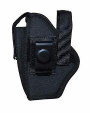Ambidextrous Gun Belt Holster Pouch Fits Glock 19 23/ 26 27 w Rails Size 18 260B